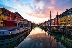 Jim-Nix-Sunset-at-Nyhavn-Copenhagen-Denmark