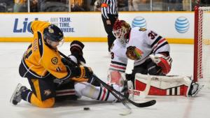 Chicago Blackhawks v Nashville Predators - Game One